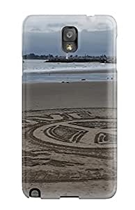 New Style 1047630K31590668 New Arrival Premium Note 3 Case Cover For Galaxy (sand Art)