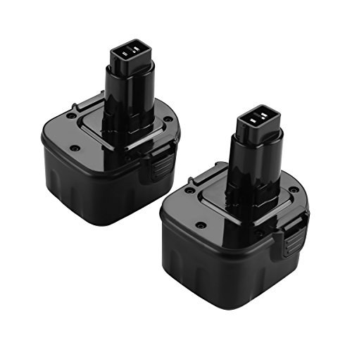 ANTRobut 2 Pack 12V 3.0Ah Replacement Battery For Dewalt DW9