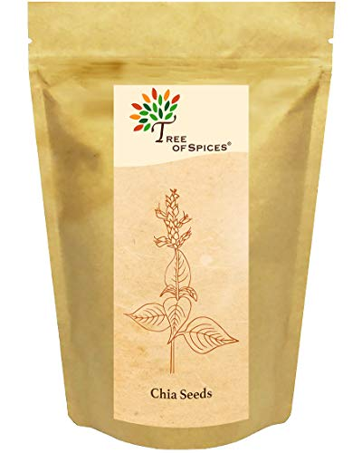 Tree of Spices - Raw Chia Seeds - 200g (7.05oz)