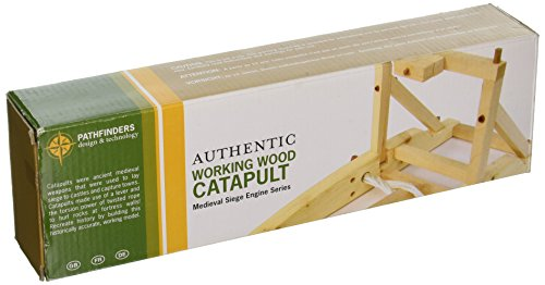Working Wood Catapult DIY Kit, 6