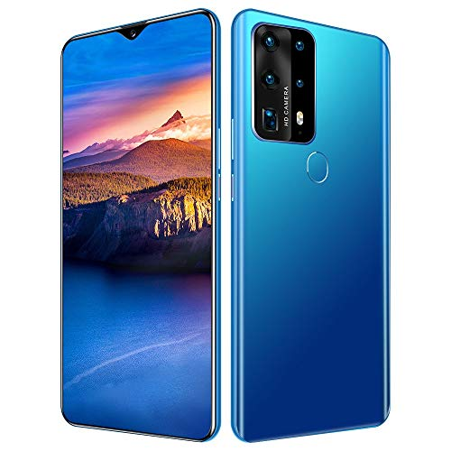 WOF Waterdrop Screen Cell Phone-P40PLUS 12GB +512GB Cell Phone, 4800mAh, Dual 4G SIM, 6.8 inch FHD Display, Android 10.0…