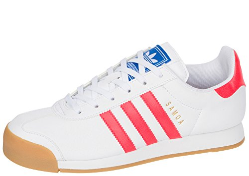 adidas Samoa PRF M Men's Shoes White/Solid Red/Gum b27466 (8.5 D(M) US)