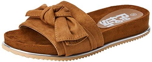 Refresh Women's 64326 Open Toe Sandals Brown (Camel) PFC1fenTRv