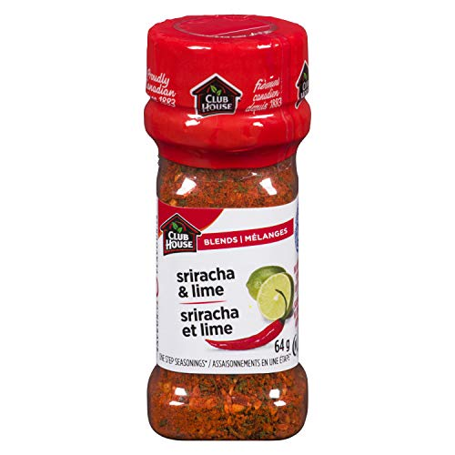 Club House, Quality Natural Herbs & Spices, Signature Blend, Sriracha&Lime, 64g