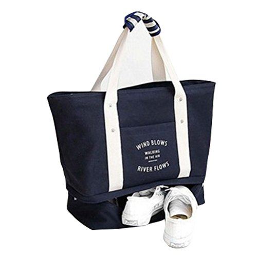 Tragbar Reisetasche Schultertasche Gepäck Handtasche Handgepäck Kleidung Verpackung Organizer Aufbewahrung Tragen Koffer Tasche Für Einsteigen /Reisen/Outdoor