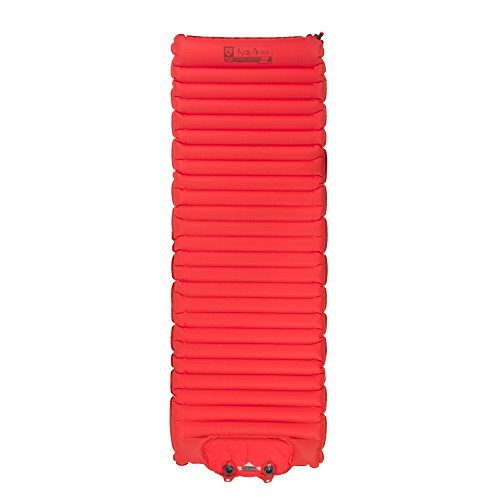 Nemo Cosmo Insulated Sleeping Pad with Foot Pump, Magma Red, 25L (Expedition Sleeping Pad)