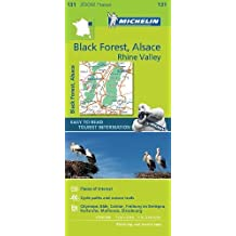 Black Forest, Alsace, Rhine Valley - Zoom Map 131