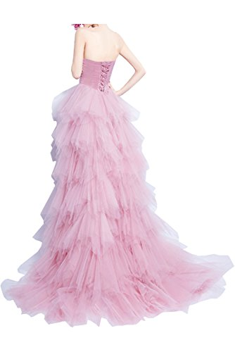 Prom Style Damen Charmant Herz-Ausschnitt Abendkleider Ballkleider Cocktailkleider Hochzeitskleider Lang A-Linie