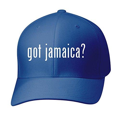 Bh Cool Designs Got Jamaica    Baseball Hat Cap Adult  Blue  Small Medium