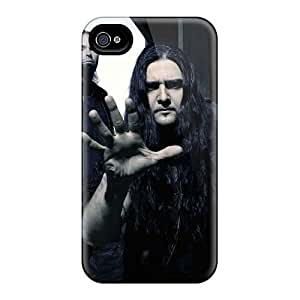 MansourMurray Iphone 4/4s Great Cell-phone Hard Covers Allow Personal Design High Resolution Judas Priest Band Pattern [Ers8745BAOL]