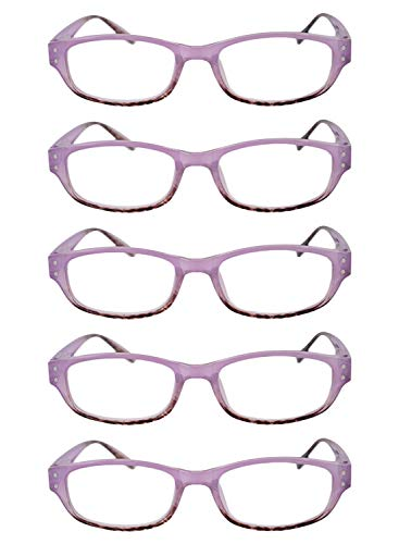 3 Unisexe fashion de retro lecture 5 full 2 Violet 1 pack lunettes 2 0 0 3 5 0 frame 1 5 5 Inlefen 8IwdRnWzqq