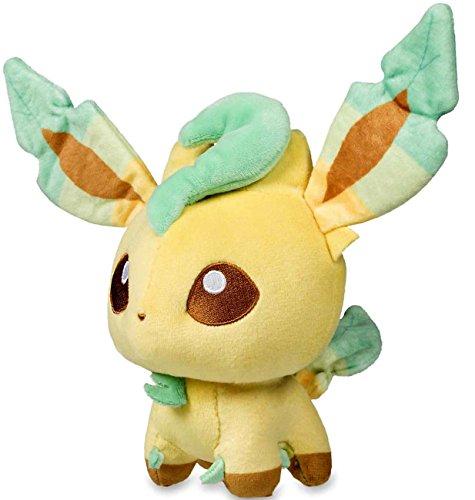 Pokemon Center Original Leafeon Doll 7 Inch Poke Plush