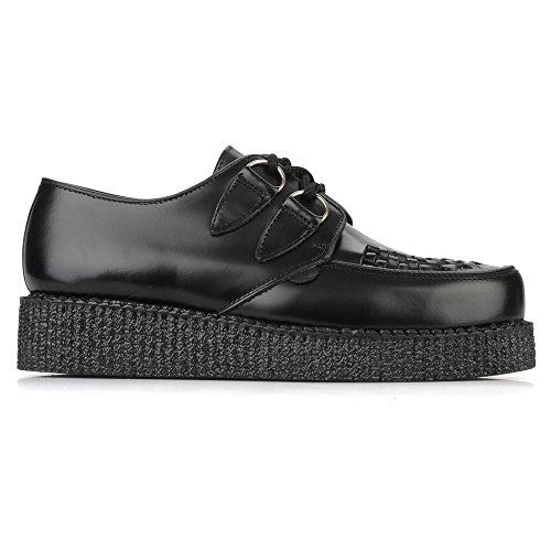 Underground Wulfrun Black Womens Shoes