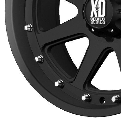 XD Series by KMC Wheels XD798 Addict Matte Black Wheel (18x9''/6x114.3mm, +18mm offset) by XD Series by KMC Wheels (Image #2)