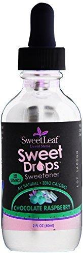 SweetLeaf Sweet Drops Liquid Stevia Sweetener, Chocolate Raspberry, 2 Ounce (Sugar Free Sweets)