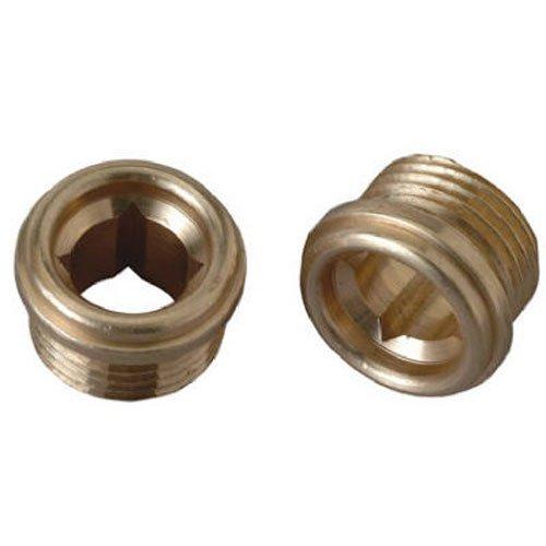 brass craft service parts scb1719 x 10 Pack, 1/2 -Inch x 24 Thread, Brass Seat by BrassCraft