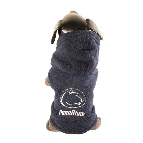 NCAA Penn State Nittany Lions Polar Fleece Hooded Dog Jacket, ()