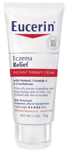 Eucerin eczéma Relief Body Lotion Thérapie instantanée, deux once