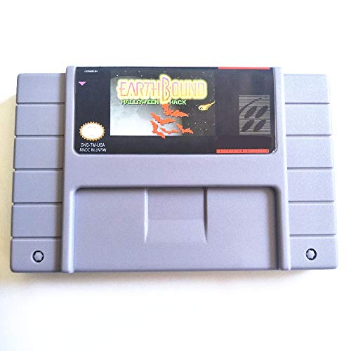 Value-Smart-Toys - Save File Earthbound Halloween hack 16 bit Big 46 pins Gray Game Card For NTSC Game -