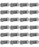 LED Two Head Emergency Light with Battery Back-up White (24 Pack)