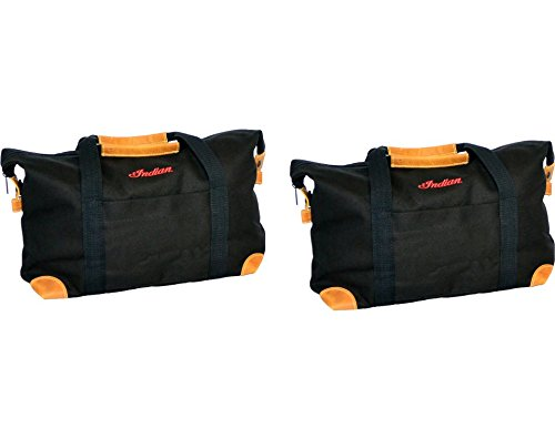 Indian Deluxe Saddlebag Travel Bags Black - - Deluxe Motorcycle