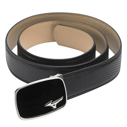 Mizuno Golf Unisex MP Digital Leather Belt - One Size - Black