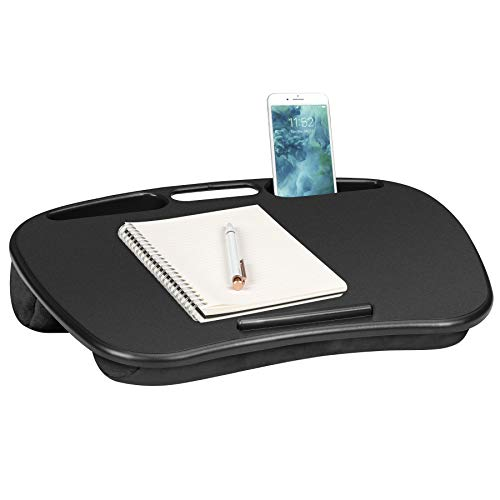 LapGear MyDesk Lap Desk - Black - Fits up to 15.6 Inch laptops - Style No. 44448 ()