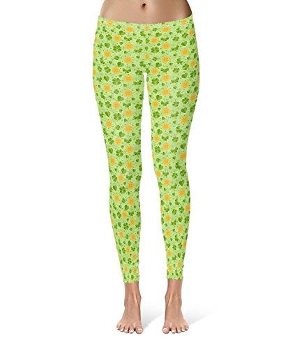 Queen of Cases - Legging de sport - Femme vert Green taille unique
