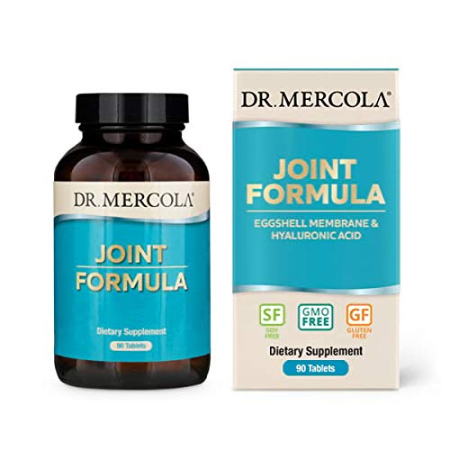 Dr. Mercola, Joint Formula with Eggshell Membrane and Hyaluronic Acid, 90 Servings (90 Tablets), non GMO, Soy-Free, Gluten Free