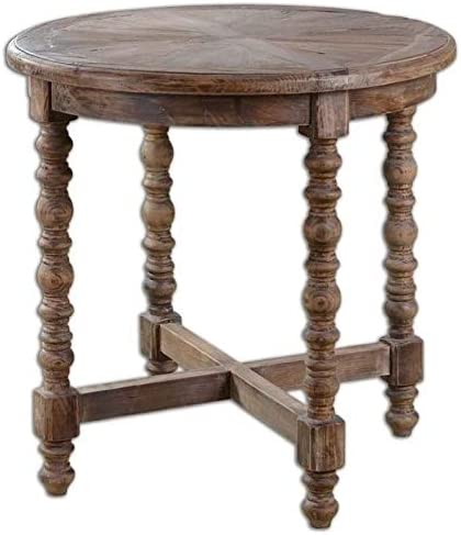 Beaumont Lane Fir Wooden End Table
