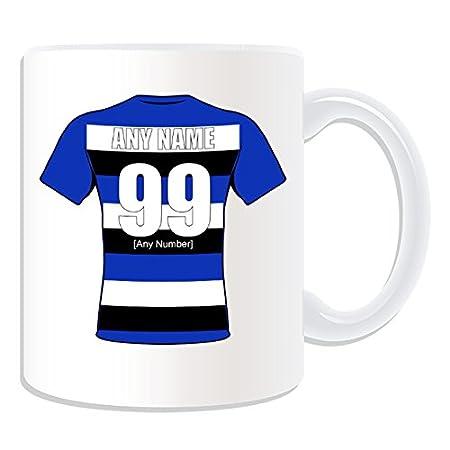 UNIGIFT Personalised Gift - Bath Mug (Rugby Union Club Design Theme ... 908198baf769