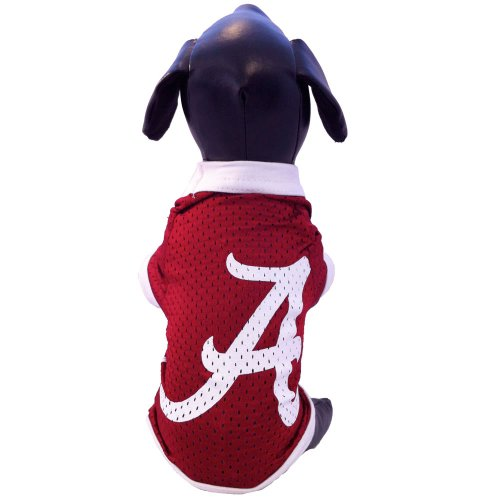 NCAA Alabama Crimson Tide Athletic Mesh Dog Jersey (Team Color, Medium) Jersey Sporting Dogs