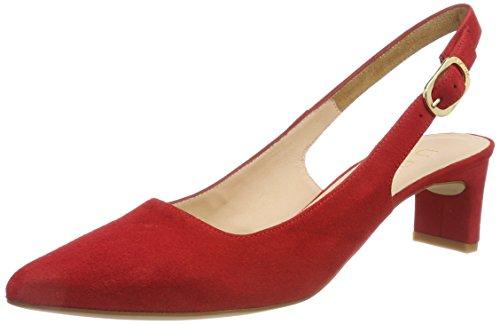 Unisa Jaima_ks, Sandalias de Talón Abierto para Mujer Rojo (Red)