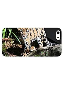 3d Full Wrap Case for iPhone 5/5s Animal Leopard Cub40