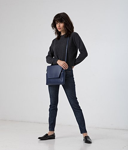 amp; Handbag Allure Matt Nat Blue Collection Minka Dwell pdwRCqw