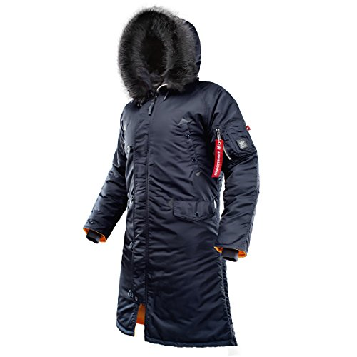 233d147f5 AIRBOSS Men's Parka N-7B Shuttle, Long and Warm Winter Coat for Cold Wether