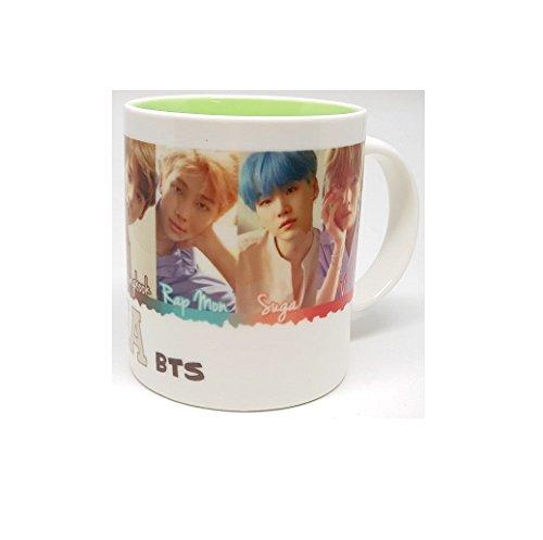 Ceramic Wall Mask (BTS LOVE YOURSELF 承 [Her] DNA Mug Cup Ceramic [DNA ver])