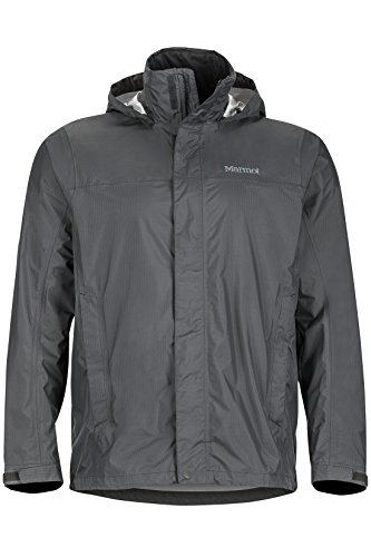 Marmot Men's PreCip Jacket, Slate Grey, XX-Large Breathable 3 Season Jacket