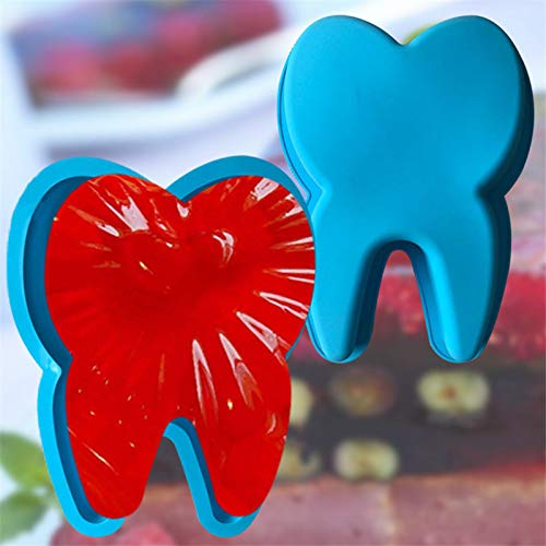 Big Teeth Silicone Cake Baking Mold Nonstick Tray Chocolate Candy Fondant