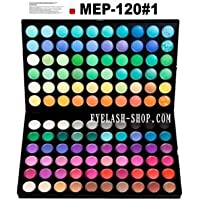 アイシャドウパレット メイクパレット 120色 プロ用 アイシャドウ、アイズパレット MEP-120#01