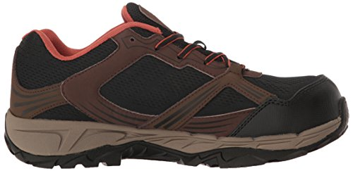 Men's Hiker Rush Wolverine Work Toe Comp ESD Brown Boot Black Zdadq4