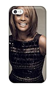 New Arrival Case Cover With OOyWEfK3594AZQxu Design For Iphone 5/5s- Whitney Houston Black Dresss People Women