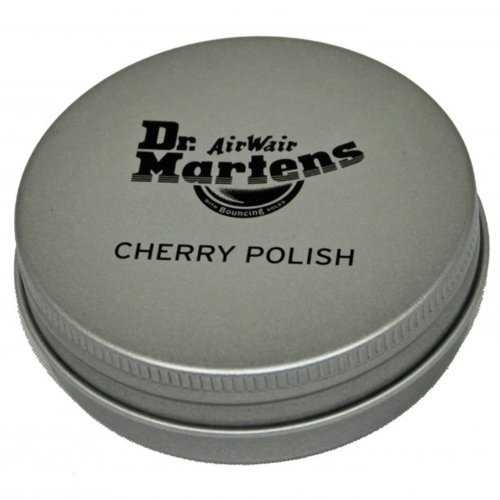 Dr. Martens Cherry Polish, Silver, NO SIZE M US by Dr. Martens