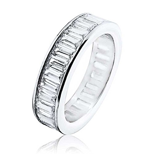 ng Band Sterling Silver Eternity Ring ()