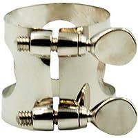 Abrazaderas Saxofón Ligadura Clip Hebilla Metal Adecuado
