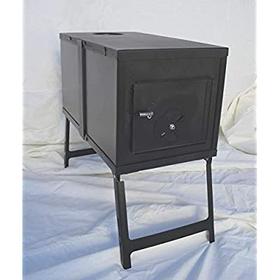 RT Canvas Wall Outfitter Collapsible Wood Stove Camping Tent Accessories: Garden & Outdoor