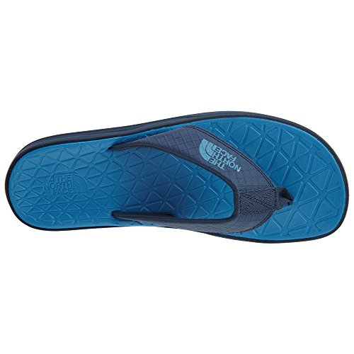 The North Face Mens Basläger Lite Flip-flops Skumma Blå / Cendre Blå