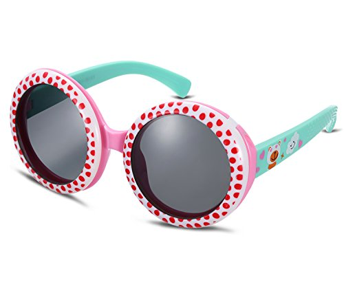 Kids Renovate Classic Silicone Sunglasses Cute Retro Sun Glasses for Baby and - Cute Glasses Really