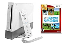 Nintendo Wii Console with Wii Sports (Renewed)