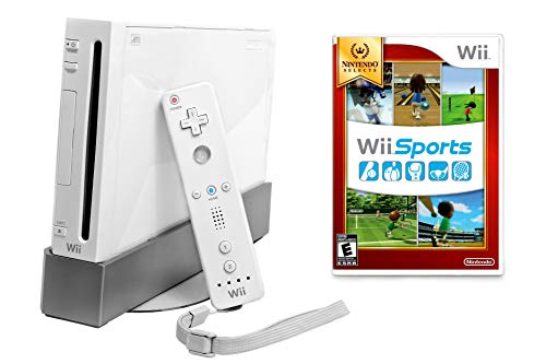 Nintendo Wii Console with Wii Sports (Renewed) (Best Wii Console Bundle)